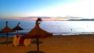 Mallorca, El Arenal. Calle Cartago am frühen Morgen. 360° View. HD1080p