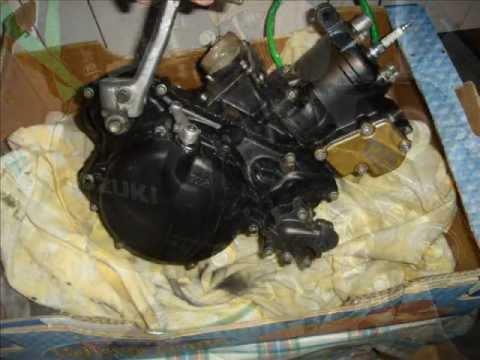 suzuki rm 125 ENGINE & GEAR BOX REBUILD