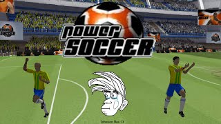 Playing Power Soccer (RIP)