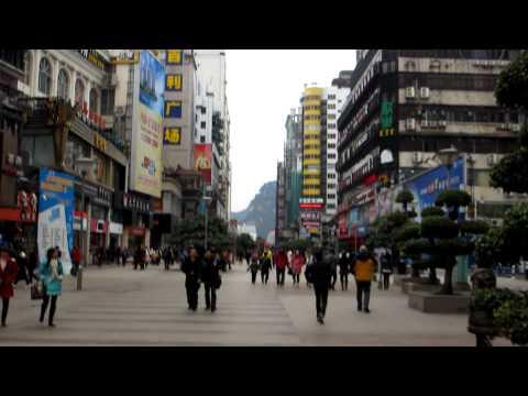 Liuzhou Streets of Guangxi China