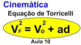 Grings - Aula 10 -  Cinemática - MRUV - Equação de Torricelli