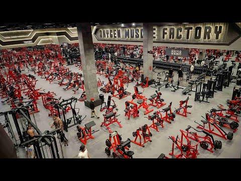 Oxygen Gym - Abu Dhabi 4K أوكسجين جيم - ابوظبى