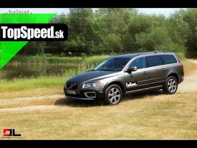 Test Volvo XC70 D5 AWD TopSpeed.sk
