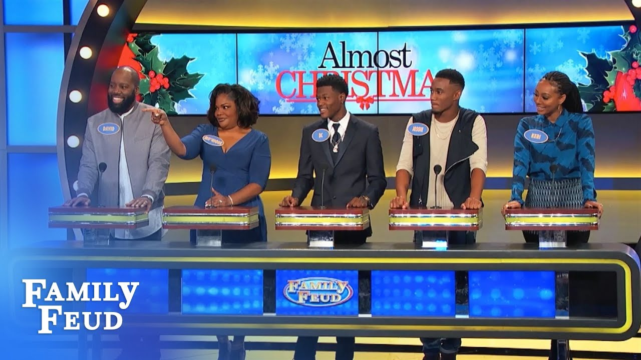 Mo'Nique & Will are ready to play the Feud! | Family Feud - YouTube