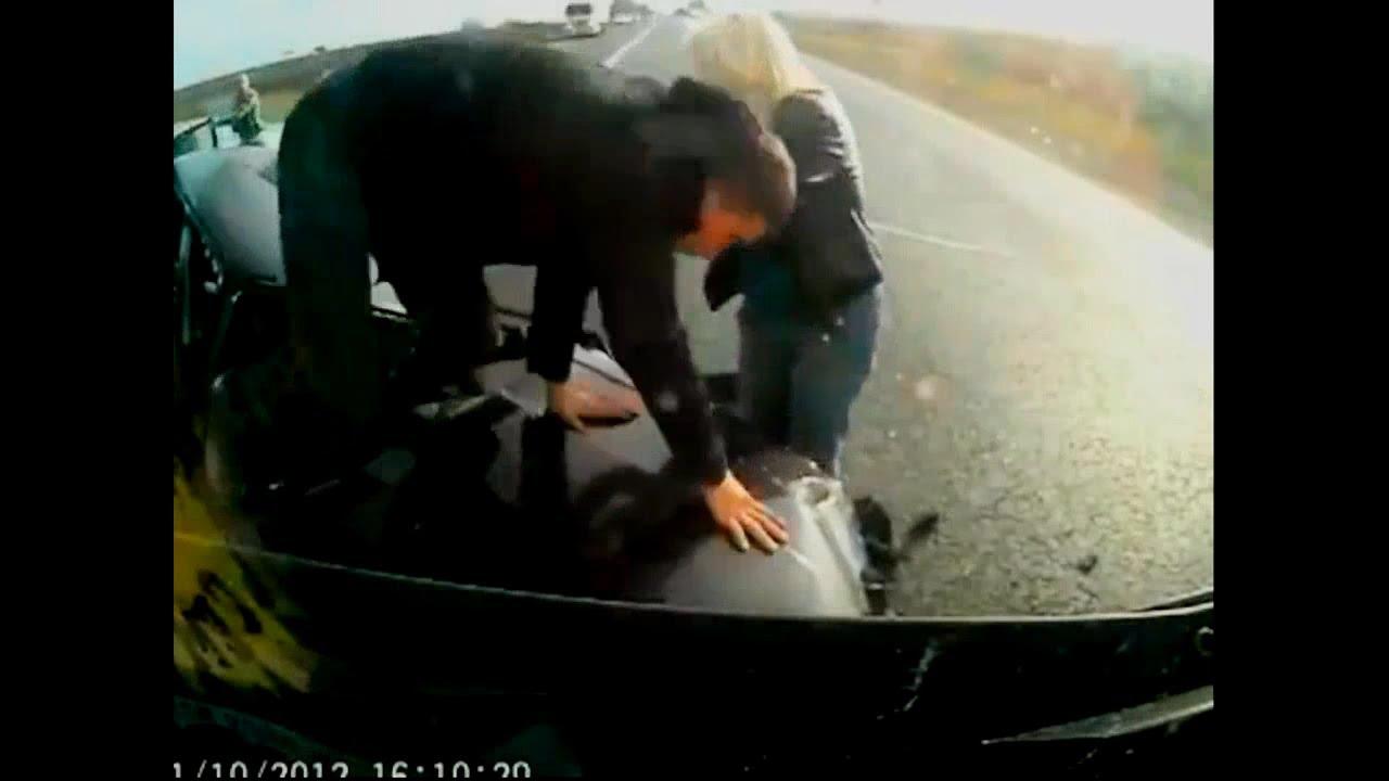 "Lucky 8 Auto >> ""Without seatbelt"" car crash compilation #1 - YouTube"