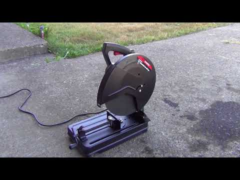 Harbor Freight Chop Saw Unboxing! Will It Work?