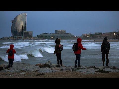 Maltempo: La Furia Della Tempesta ''Gloria'' Sulla Spagna