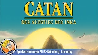 Catan: Rise of the Incas — game preview at Spielwarenmesse 2018