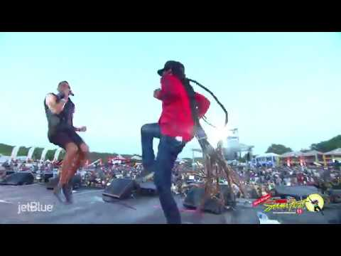 Reggae Sumfest 2018  Cham feat Damian Jr Gong Marley Part 5 of 5
