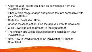 Apps on Playstation 4   PS4 App Download, Install & Update Guide