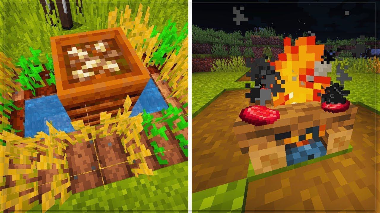 minecraft bekommt kompost neues lagerfeuer update. Black Bedroom Furniture Sets. Home Design Ideas
