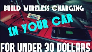 DIY BUILD YOUR OWN HIDDEN WIRELESS CHARGER IN YOUR CAR GET YOUR JAMES BOND ON AKA MAZDA MODS