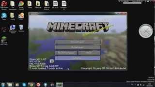 Видео урок как скачать моды на Minecraft 1 4 7