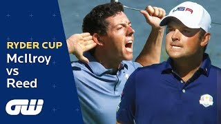 Rory McIlroy vs Patrick Reed Highlights   Ryder Cup 2016   Golfing World