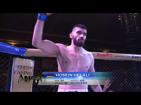 ArmFC-19.Hosein Helali vs Shota Betlemidze fight moments full HD