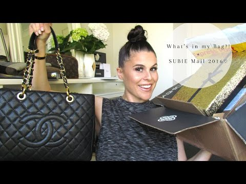What's in my Bag?! + SUBIE Mail 2016♡