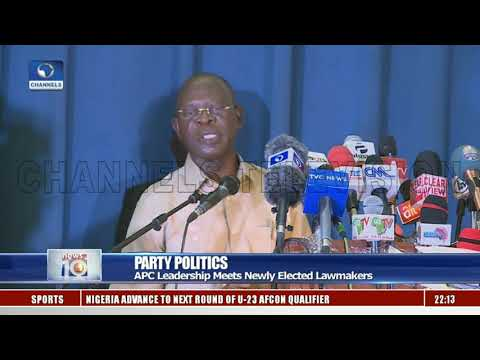 APC Leadership Meets Newly Elected Lawmakers
