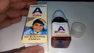 A-Pills (For Bedwetting Children)  Tablet Full Review