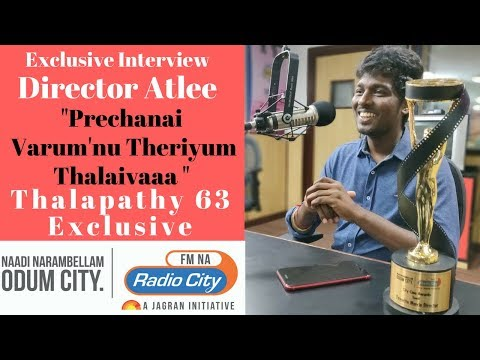 Director Atlee  - Mersal | Thalapathy 63 | Full Exclusive In