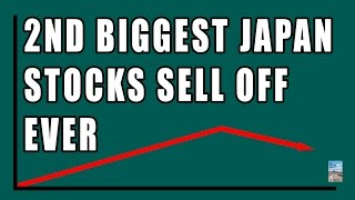 2nd Biggest Stock & Bond SellOff IN HISTORY of Japan! Foreign Investors Jump Ship!