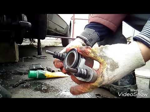 Замена переднего тормозного целиндра ваз 2108