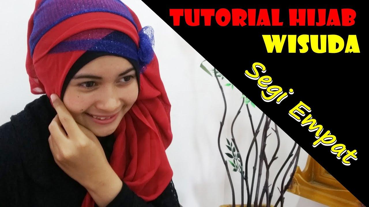 Tutorial Hijab Wisuda Segi Empat Modern Dan Simple By Nica 185