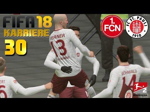 FIFA 18 KARRIERE [#30] ★ FC St. Pauli vs. 1. FC Nürnberg, 22. Spieltag |