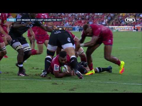 2017 Super Rugby Round 1: Reds v Sharks