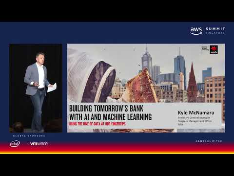 AWS Summit Singapore - Building Tomorrow's Bank with AI/ ML