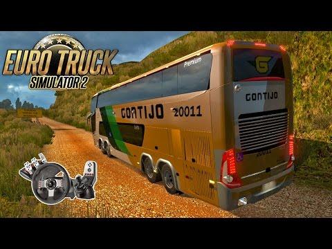 Euro Truck 2 - EAA Bus Off Road com Ônibus da Gontijo e Paradiso G7-1800 + G27