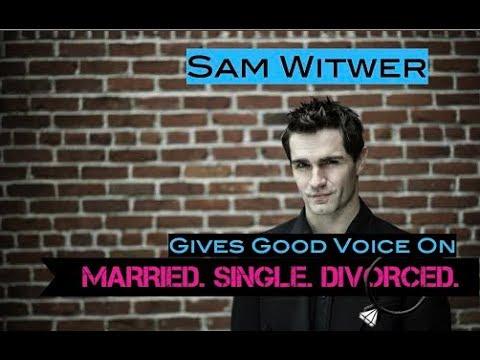 Being Smouldering Sam Witwer (Married. Single. Divorced.)