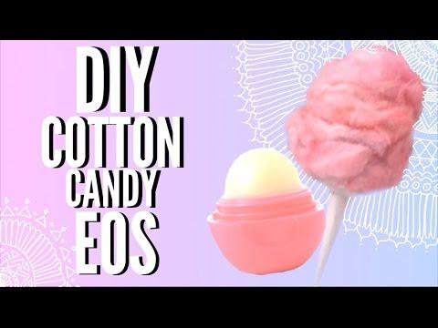 DIY COTTON CANDY EOS LIP BALM