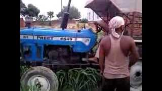 Preet tractors 4549