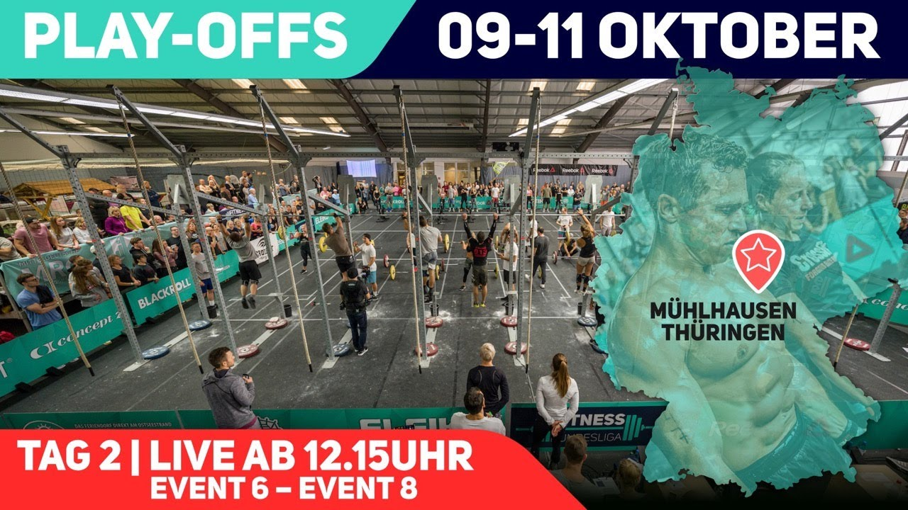 Play-Offs – Fitness Bundesliga 2020 | Tag 2