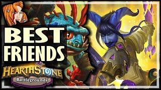 MY BEST FRIENDS RETURN! - Hearthstone Battlegrounds