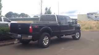 2011 Ford F350 6.7l straight pipe 5