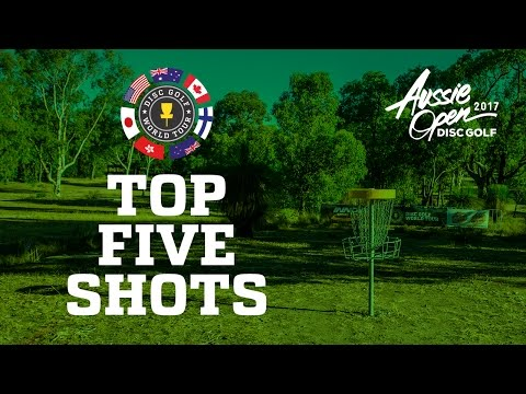 2017 Aussie Open Top 5 Shots
