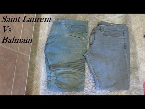 Saint Laurent Vs Balmain Which Denim Is Better?