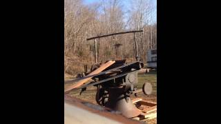 """T&r Farms Wood Planing, National 24"""" Planer And Farmall Cub"""