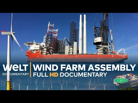 WIND FARM ASSEMBLY Off The Coast Of Sylt - Millimeter Work In All Weathers | Full Documentary