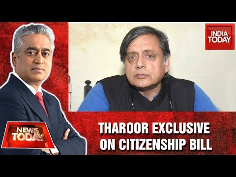 Shashi Tharoor Slams CAB; Says The Bill An Assault On Constitution | News Today With Rajdeep
