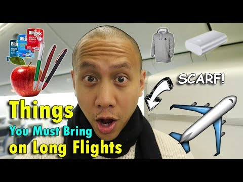 Things You Must Bring On Long Flights | June 9th, 2017 | Vlog #136