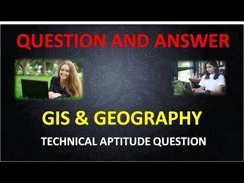 GIS and Geography INTERVIEW ANSWERS AND QUESTIONS