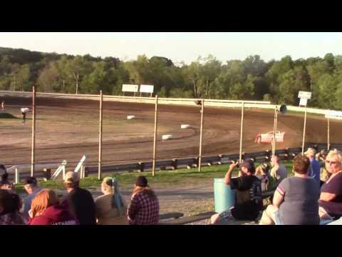 Hummingbird Speedway (7-8-17): BWP Bats Late Model Heat Race #1