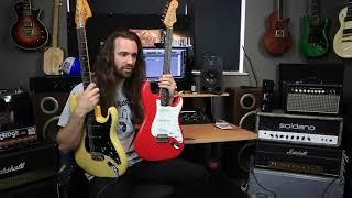 Cheap Squier vs Vintage Fender