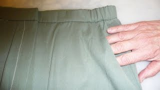 Add ELASTIC to Waistband Stabilizer over the sides