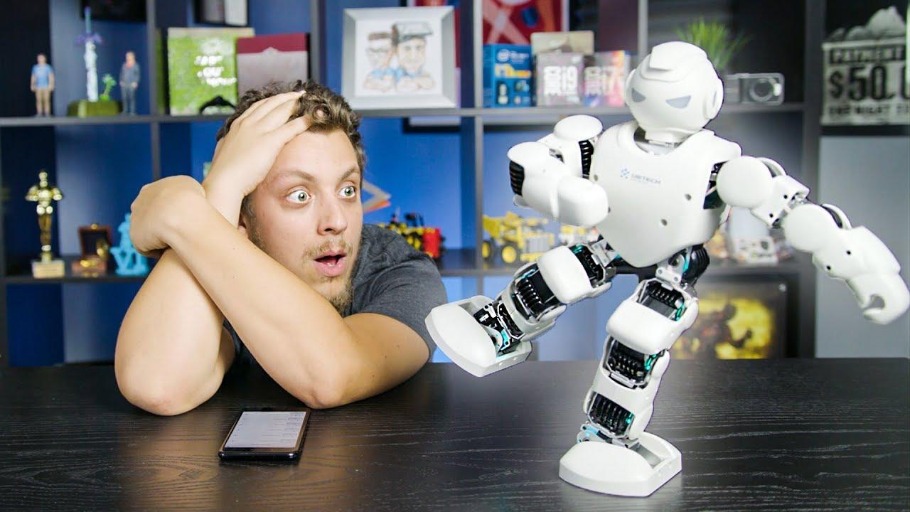 Download VÉGÜNK VAN! ITT VANNAK A NINJON ROBOTOK! | Ubtech Alpha 1 Pro