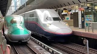 上越新幹線E4系P11編成 MAXとき333号新潟行き 東京発車
