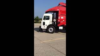 Peterbilt 320 Dump Truck Inspection