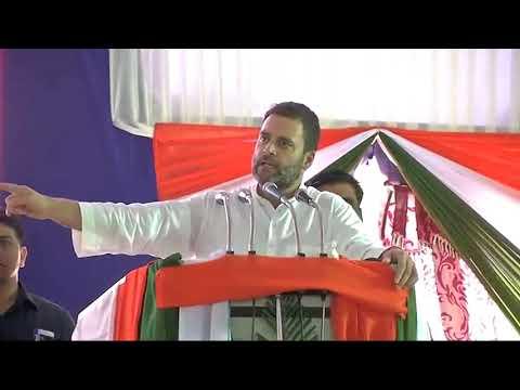 Rahul Gandhi speech in Raichur